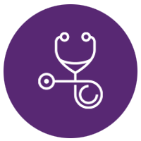 Healthcare icon graphic