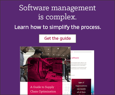 Insight Supply Chain Optimization Software awareness ad