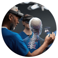 Microsoft HoloLens 2 in use in medical field