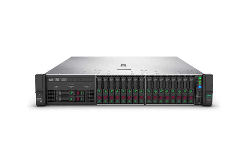 HPE ProLiant DL380 Gen10 servers