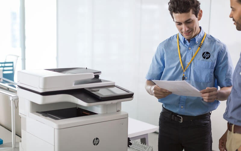 HP Managed Print Services lifestyle