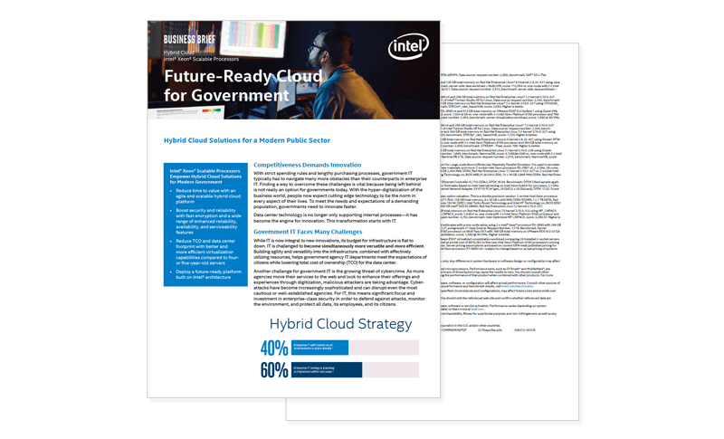 Future-Ready Cloud for Government solution brief
