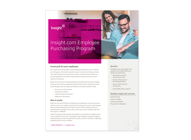 Insight Employee Purchasing Program